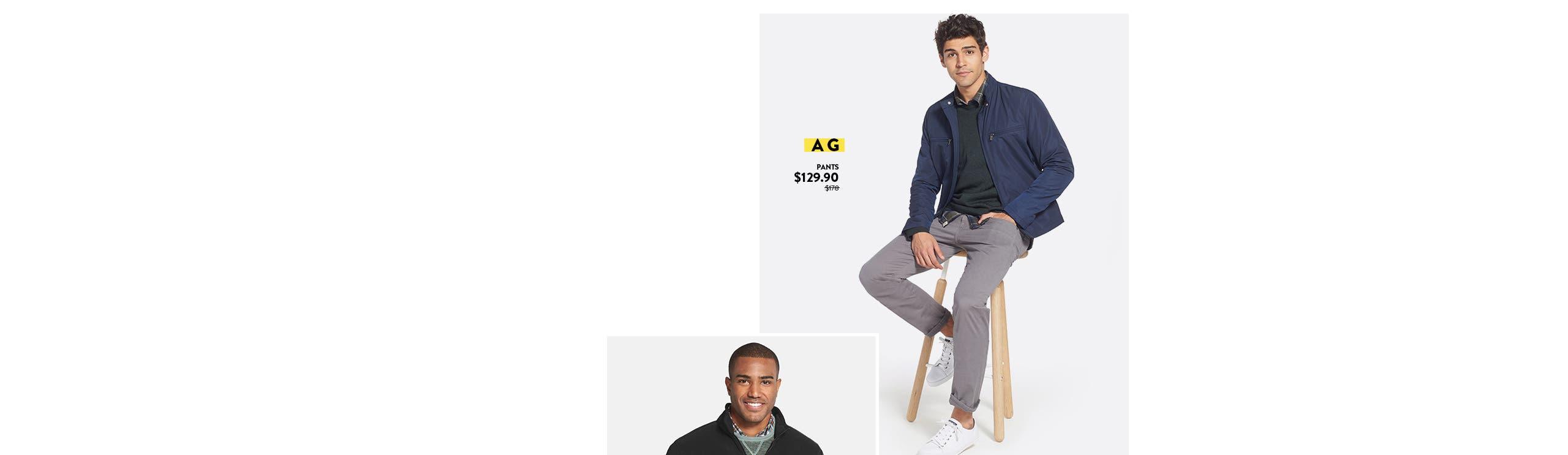 Anniversary Sale: save big on men's pants.