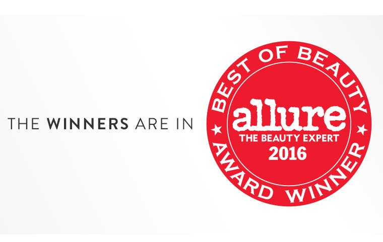 Allure Best of Beauty Award Winners 2016.