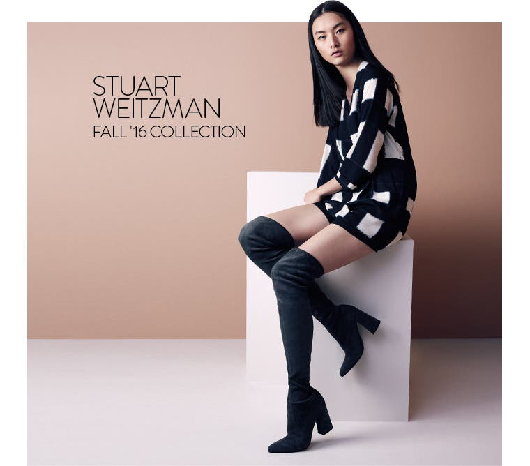 Stuart Weitzman Fall '16 Collection.
