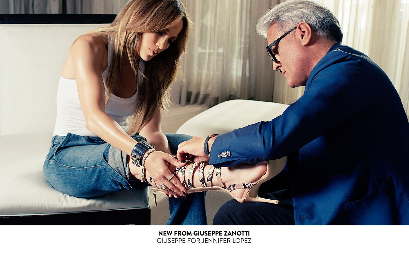 New designer shoes from Giuseppe Zanotti: Giuseppe for Jennifer Lopez capsule collection.