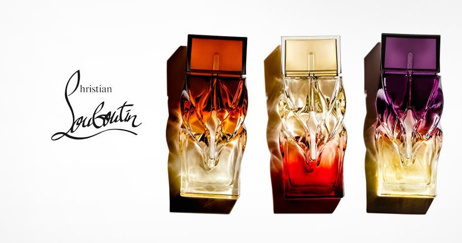 Introducing fragrance from Christian Louboutin.""