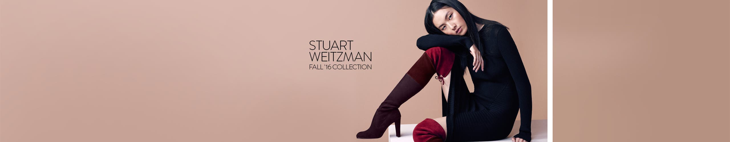 Stuart Weitzman fall 2016 collection.