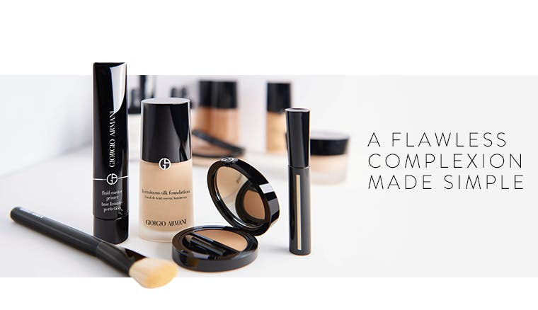 A flawless complexion made simple.