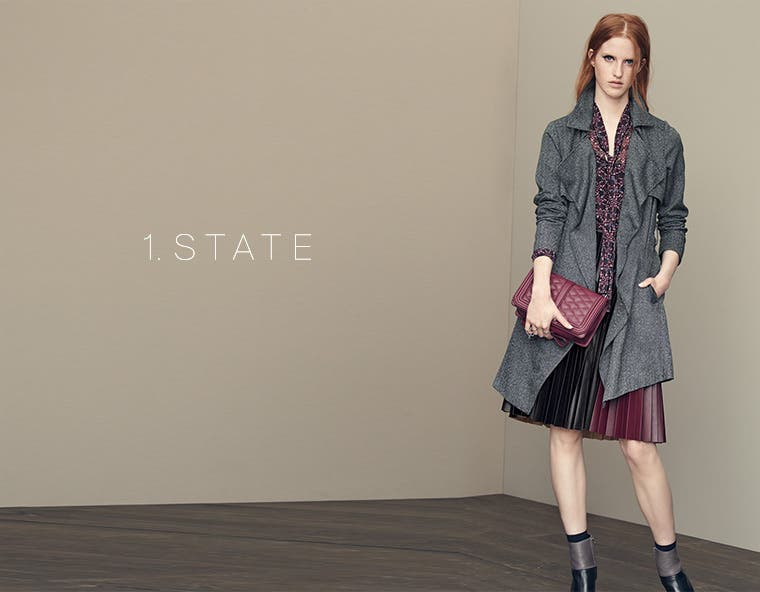 Affordably priced, stylish women's clothing from 1.STATE.