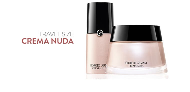 Travel-size Crema Nuda.