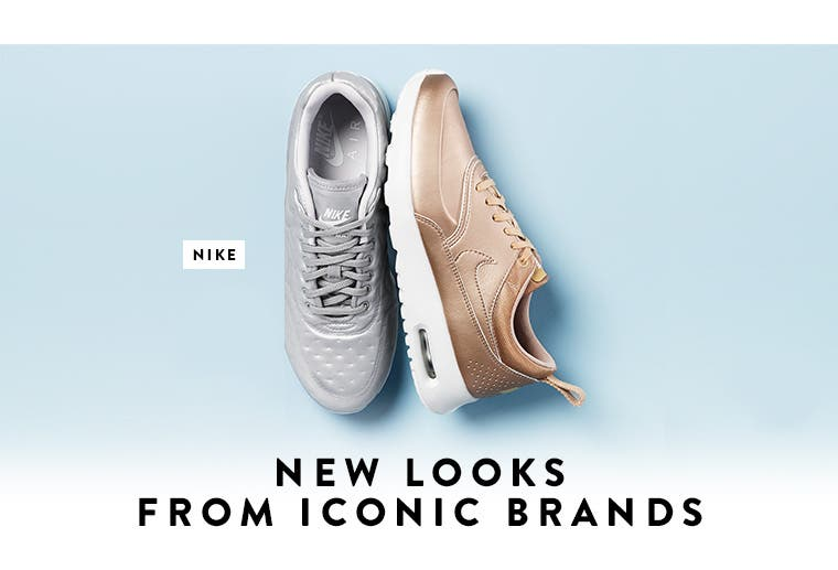 New looks from Nike and more iconic brands.