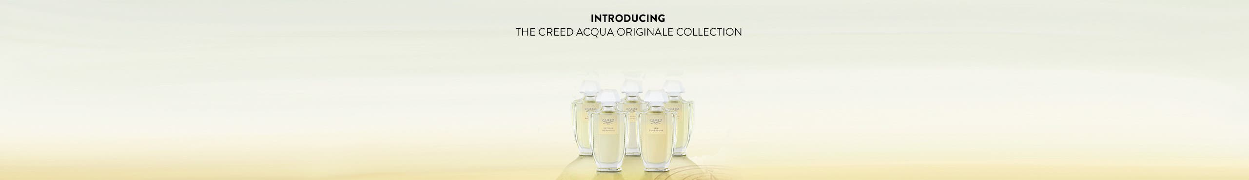 Introducing the Creed Acqua Originale Collection.