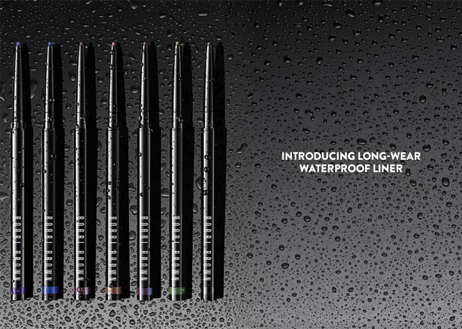 Introducing Long-Wear Waterproof Liner.