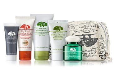 Receive a free 6-piece bonus gift with your $45 Origins purchase