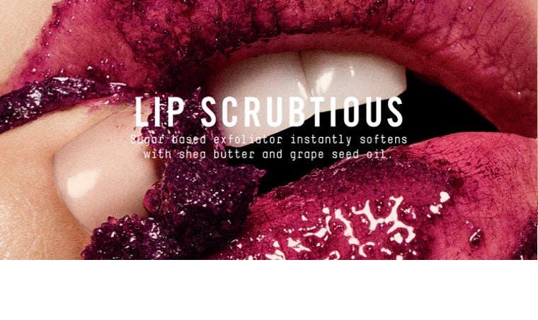 Lip Scrubtious.