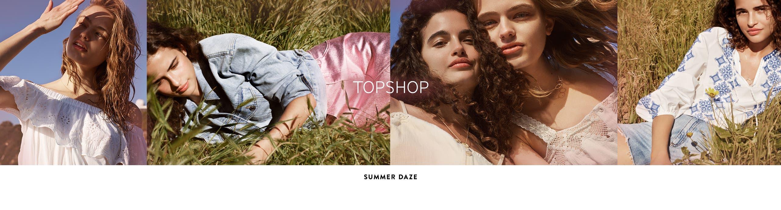 Topshop: summer daze.