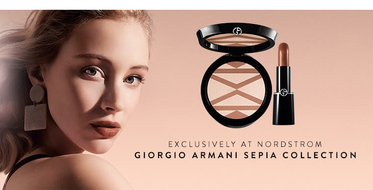 Nordstrom exclusive: Giorgio Armani Sepia collection.