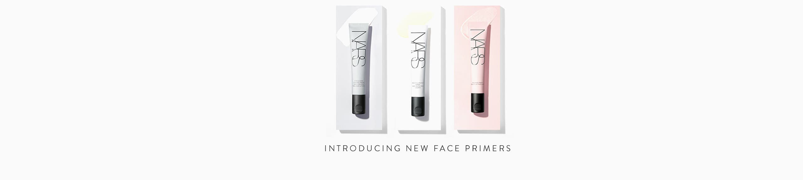 Introducing New Face Primers.
