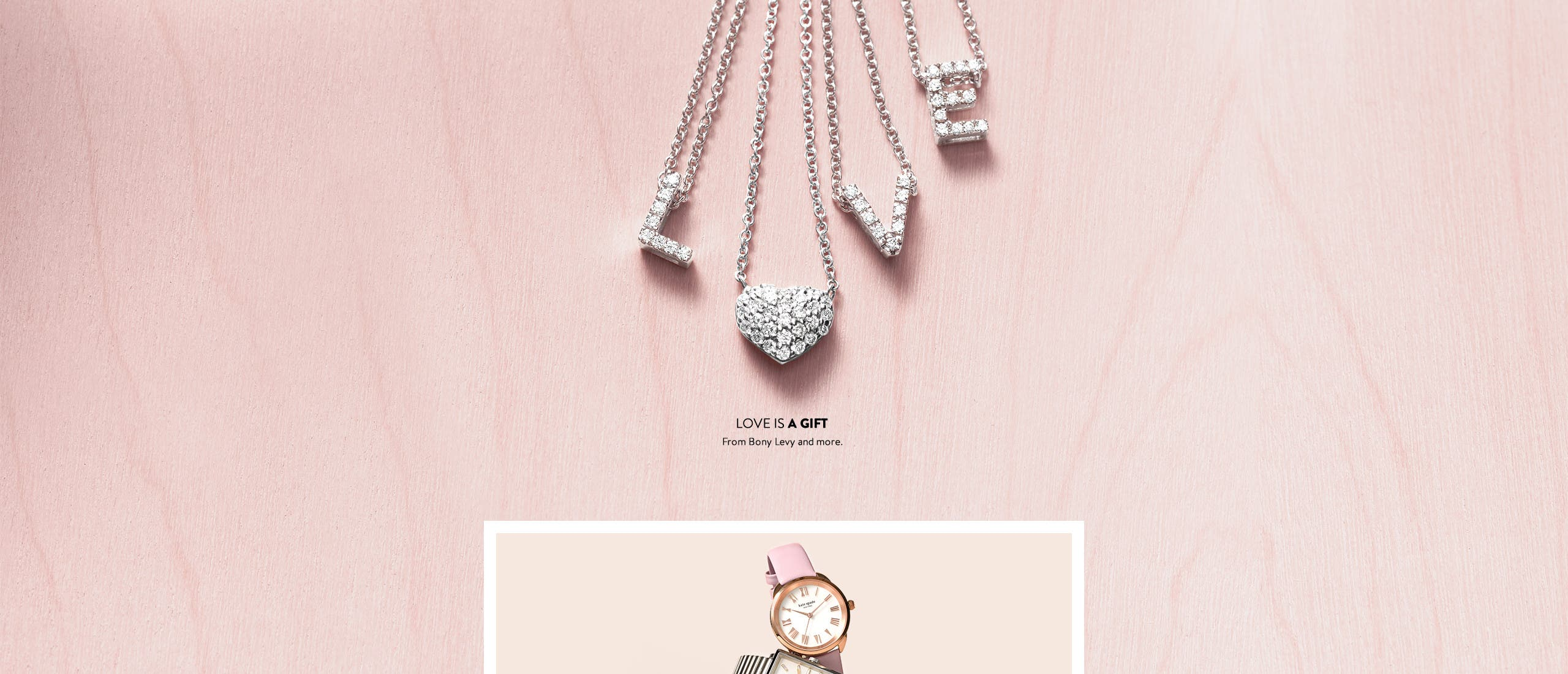 Love is a gift: Valentine's Day jewelry gifts for women.