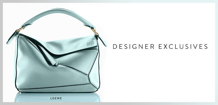 Nordstrom-exclusive designer handbags.