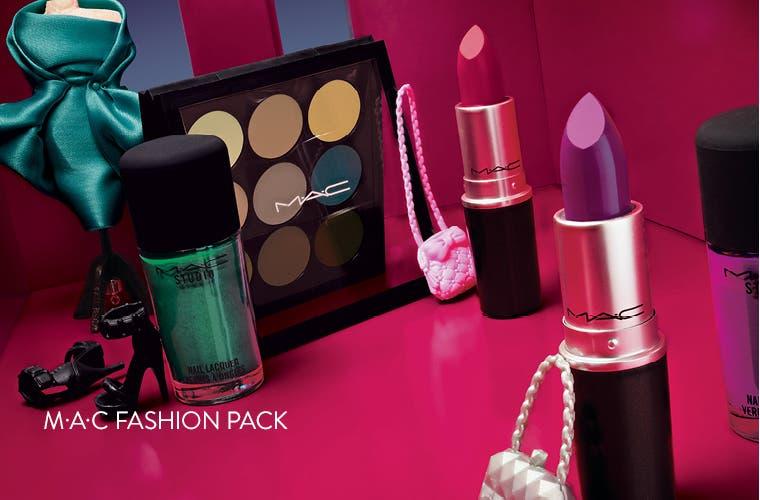 M•A•C Fashion Pack: bold color.