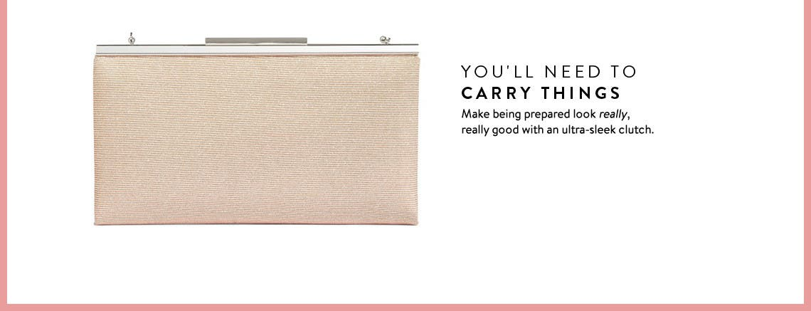 Prom clutches and handbags.
