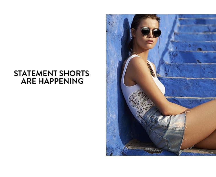Women's Topshop shorts.
