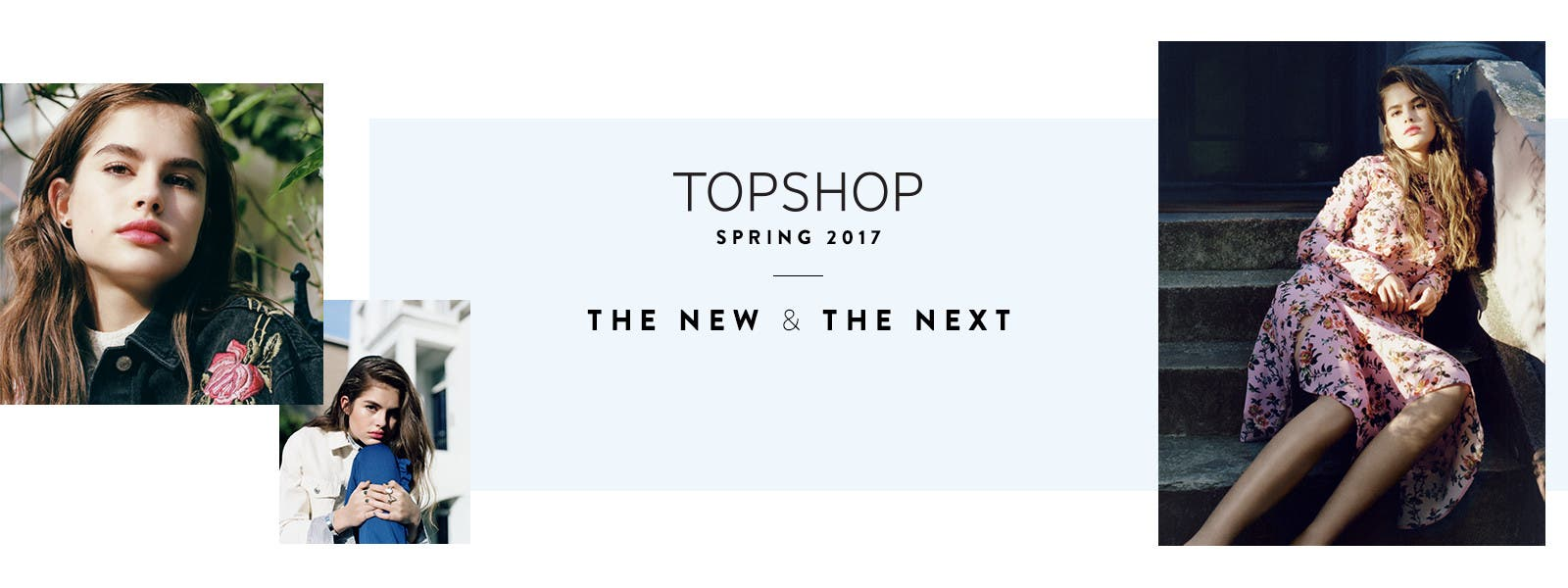 Topshop spring 2017: the new and the next. The latest clothing, shoes and accessories.