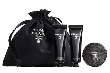 Prada gift with purchase.