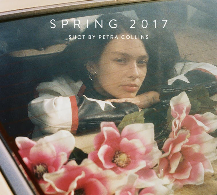 Our new spring campaign, shot by Petra Collins.