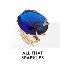 All that sparkles. Jewelry and accessories from kate spade new york.