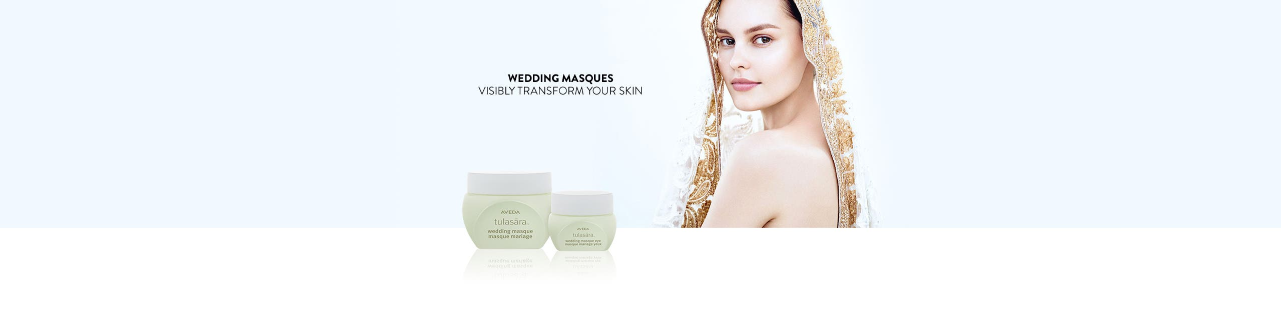 Wedding masques visibly transform your skin.