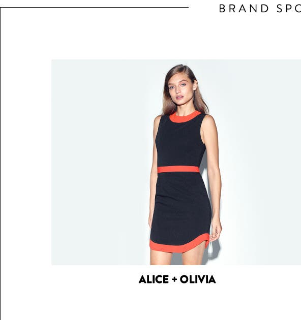 Dresses from Alice + Olivia and more.