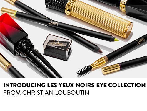 Introducing Les Yeux Noirs eye collection from Christian Louboutin.