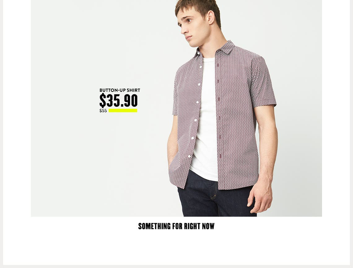 Topman shirts and more for right now.