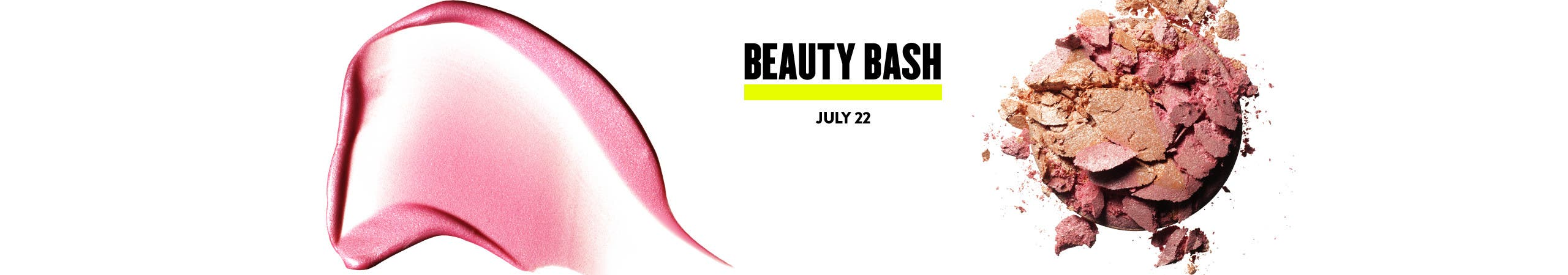 Anniversary Sale Beauty Bash.