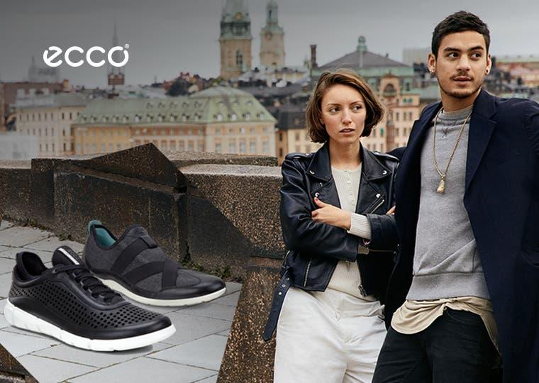 ECCO footwear for women and men.