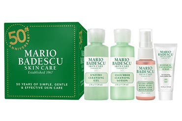 Receive a free 4-piece bonus gift with your $50 Mario Badescu purchase