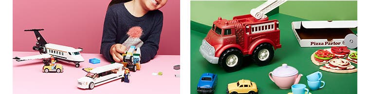 Building sets and blocks fulfill kids' appetite for construction.
