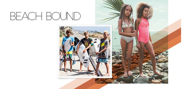 Beach Bound: summer essentials for kids.