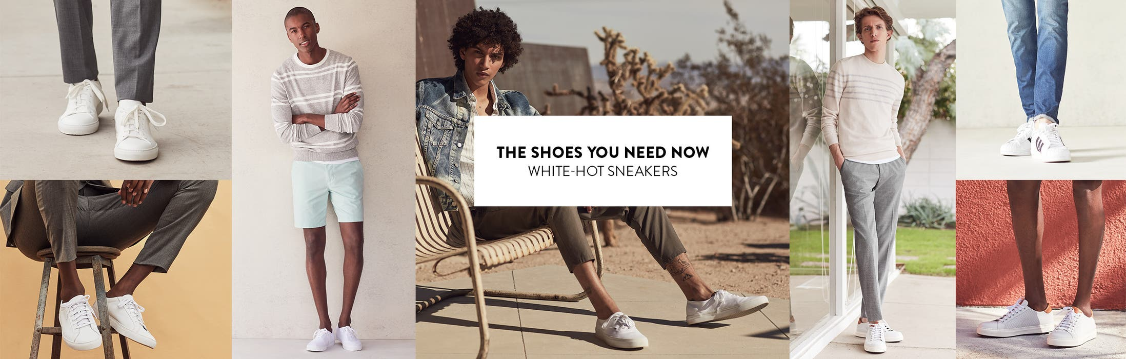 The shoes you need now: white-hot sneakers.
