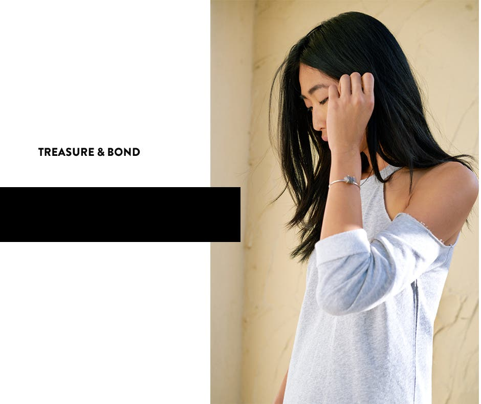 Treasure & Bond. Exclusively at Nordstrom.
