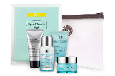 Receive a free 5-piece bonus gift with your $55 My Skin Mentor Dr. G purchase