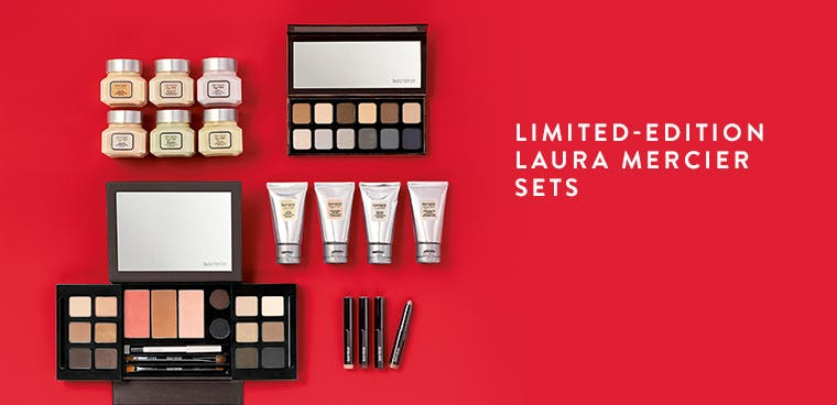 Limited-edition Laura Mercier sets.