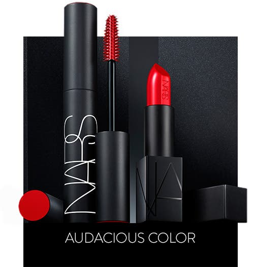 Audacious color from NARS.