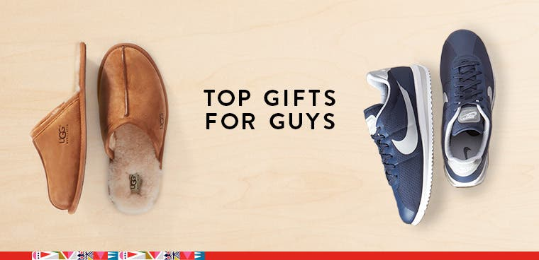 Top gifts for him: a holiday gift guide for men.