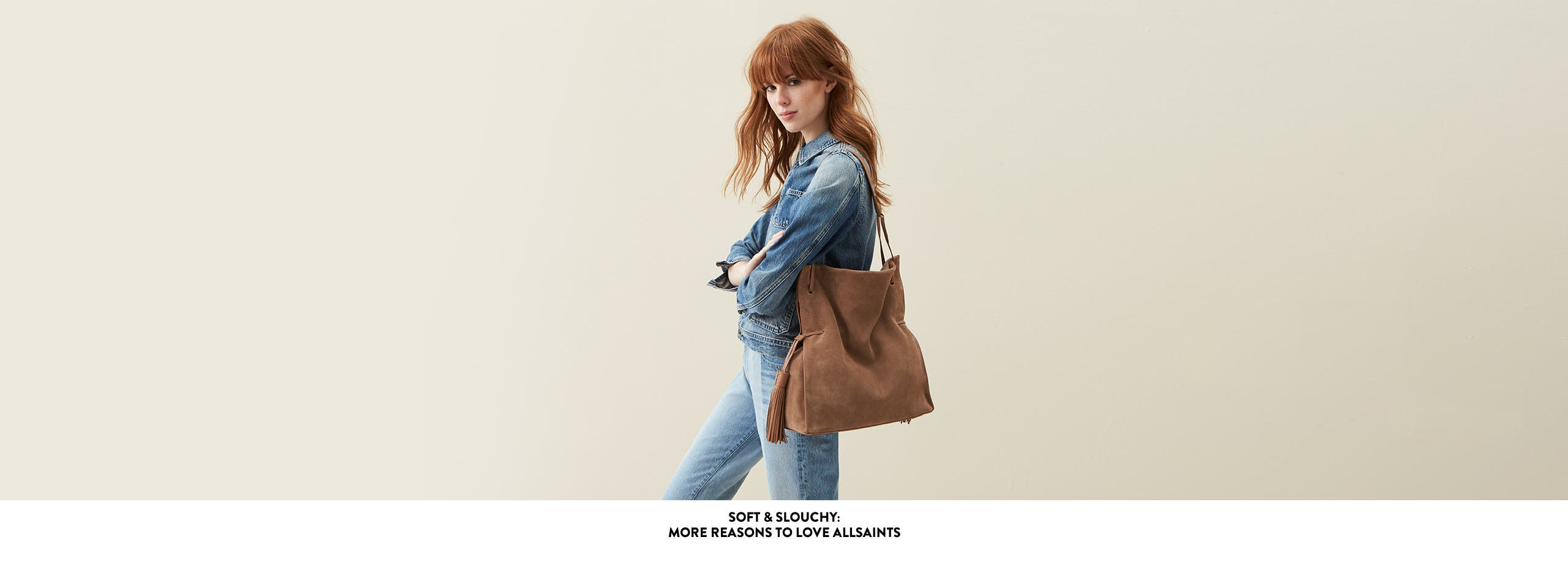 Soft and slouchy bags from ALLSAINTS