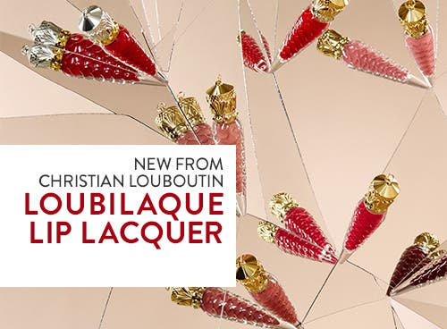 New from Christian Louboutin: Loubilaque Lip Lacquer.