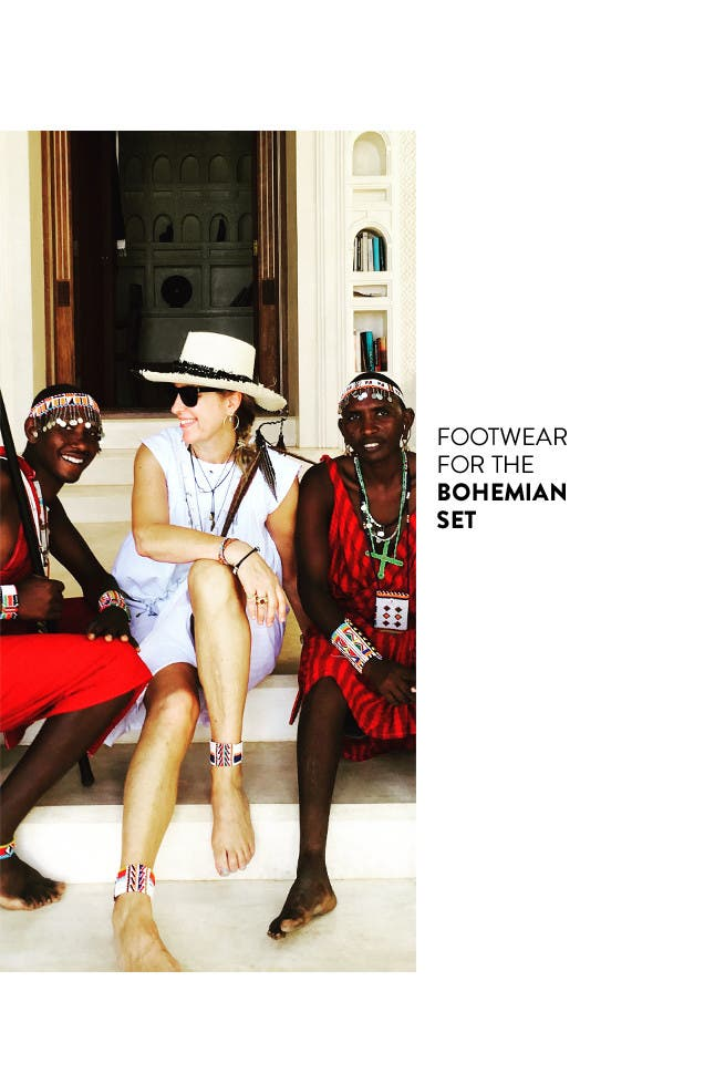 Footwear for the bohemian set. Read the interview on The Thread.