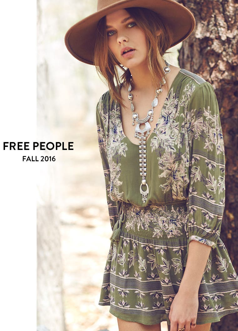 Free People fall 2016.
