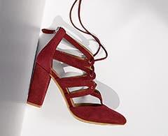 Halogen shoes for women.