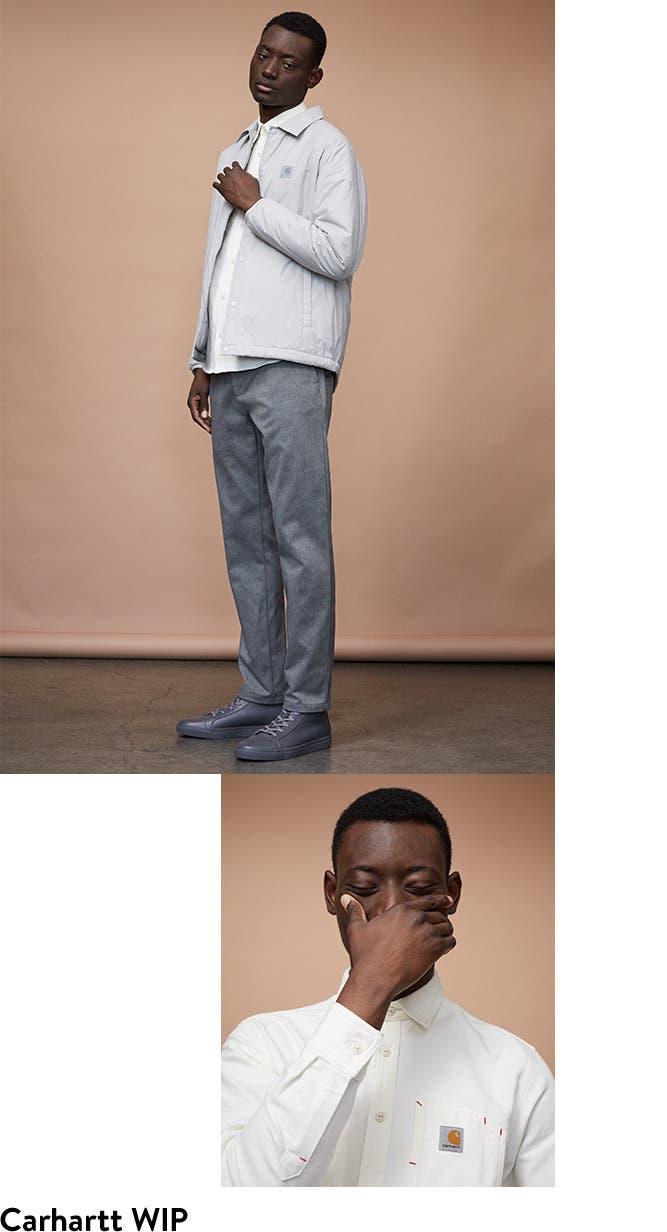 Carhartt WIP designer clothes for men.