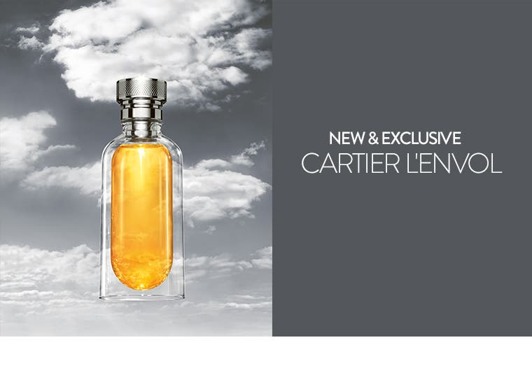 New and exclusive: Cartier L'Envol cologne.