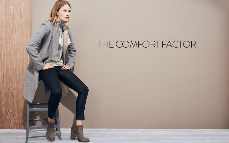 The comfort factor: women's comfort shoes.
