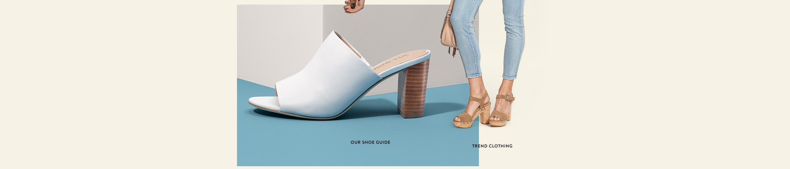 Our women's shoe guide on what's hot this season. Plus new styles in women's trend clothing.